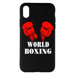 Наклейка World Boxing - FatLine