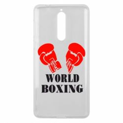 Чехол для Nokia 8 World Boxing - FatLine