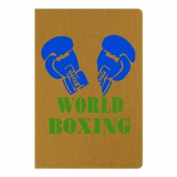 Блокнот А5 World Boxing - FatLine