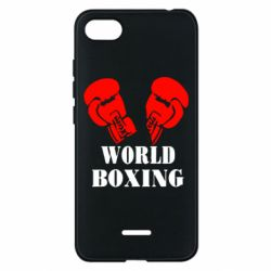 Чехол для Xiaomi Redmi 6A World Boxing - FatLine