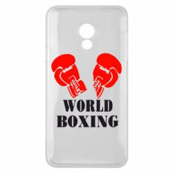 Чехол для Meizu 15 Lite World Boxing - FatLine