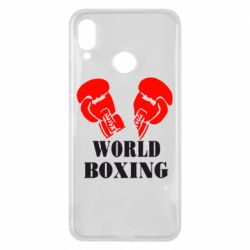Чехол для Huawei P Smart Plus World Boxing - FatLine