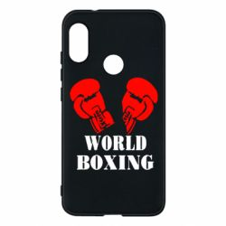 Чехол для Mi A2 Lite World Boxing - FatLine