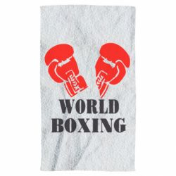 Полотенце World Boxing - FatLine