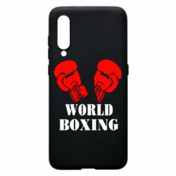 Чехол для Xiaomi Mi9 World Boxing