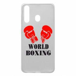 Чехол для Samsung A60 World Boxing