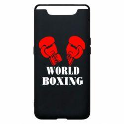 Чехол для Samsung A80 World Boxing