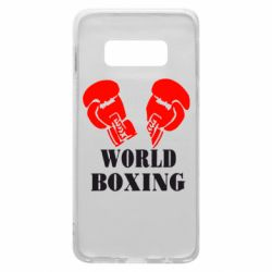 Чехол для Samsung S10e World Boxing