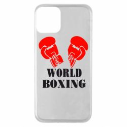 Чехол для iPhone 11 World Boxing