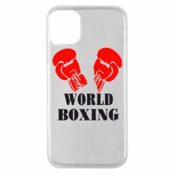 Чехол для iPhone 11 Pro World Boxing