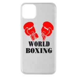 Чехол для iPhone 11 Pro Max World Boxing