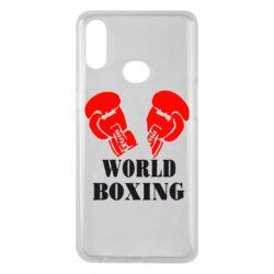 Чехол для Samsung A10s World Boxing
