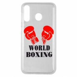 Чехол для Samsung M30 World Boxing