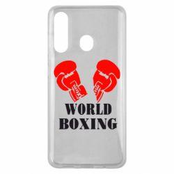 Чехол для Samsung M40 World Boxing