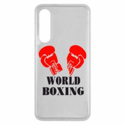 Чехол для Xiaomi Mi9 SE World Boxing