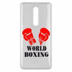 Чехол для Xiaomi Mi9T World Boxing