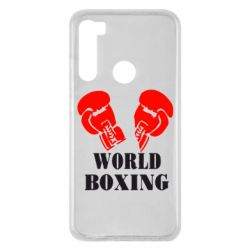 Чохол для Xiaomi Redmi Note 8 World Boxing