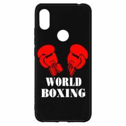 Чохол для Xiaomi Redmi S2 World Boxing