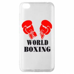 Чохол для Xiaomi Redmi Go World Boxing