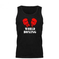 Мужская майка World Boxing - FatLine