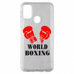 Чехол для Samsung M30s World Boxing