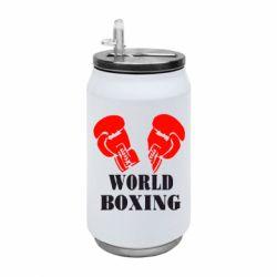 Термобанка 350ml World Boxing