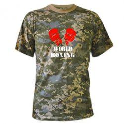Камуфляжная футболка World Boxing - FatLine