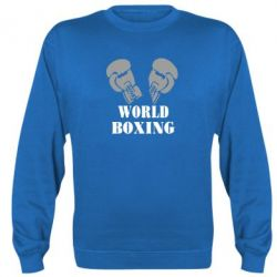 Реглан World Boxing - FatLine