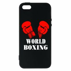 Чехол для iPhone5/5S/SE World Boxing - FatLine