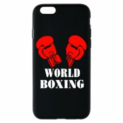 Чехол для iPhone 6/6S World Boxing - FatLine