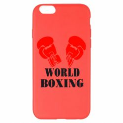Чехол для iPhone 6 Plus/6S Plus World Boxing - FatLine