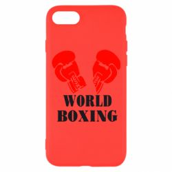 Чехол для iPhone 8 World Boxing - FatLine