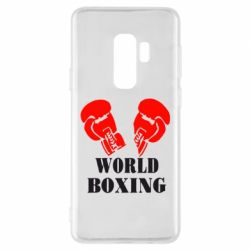 Чехол для Samsung S9+ World Boxing - FatLine