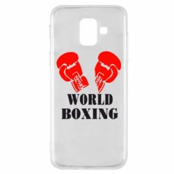 Чехол для Samsung A6 2018 World Boxing - FatLine