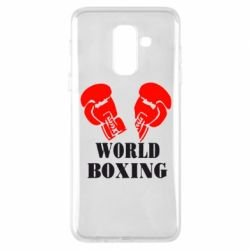 Чехол для Samsung A6+ 2018 World Boxing - FatLine