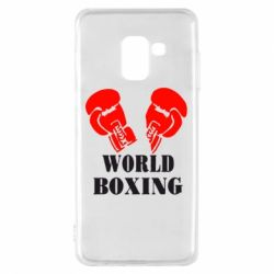 Чехол для Samsung A8 2018 World Boxing - FatLine