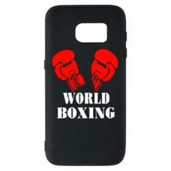 Чехол для Samsung S7 World Boxing - FatLine