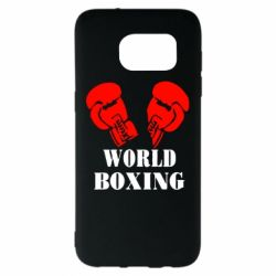 Чехол для Samsung S7 EDGE World Boxing - FatLine