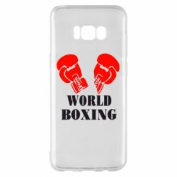 Чехол для Samsung S8+ World Boxing - FatLine