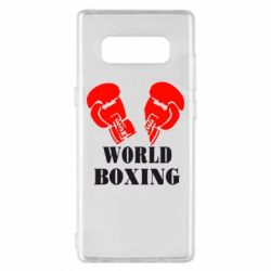 Чехол для Samsung Note 8 World Boxing - FatLine