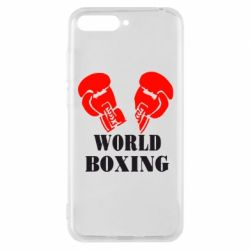 Чехол для Huawei Y6 2018 World Boxing - FatLine