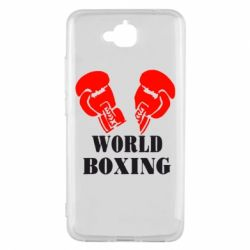 Чехол для Huawei Y6 Pro World Boxing - FatLine