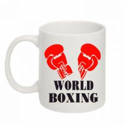 Кружка 320ml World Boxing - FatLine