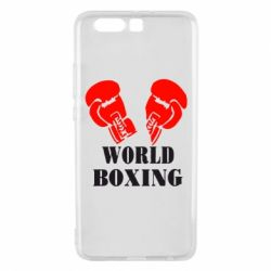 Чехол для Huawei P10 Plus World Boxing - FatLine