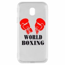 Чехол для Samsung J3 2017 World Boxing - FatLine