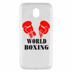 Чехол для Samsung J5 2017 World Boxing - FatLine