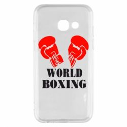 Чехол для Samsung A3 2017 World Boxing - FatLine
