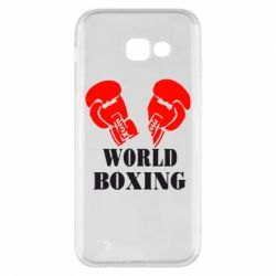 Чехол для Samsung A5 2017 World Boxing - FatLine