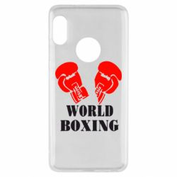 Чехол для Xiaomi Redmi Note 5 World Boxing - FatLine