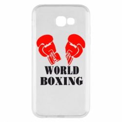 Чехол для Samsung A7 2017 World Boxing - FatLine